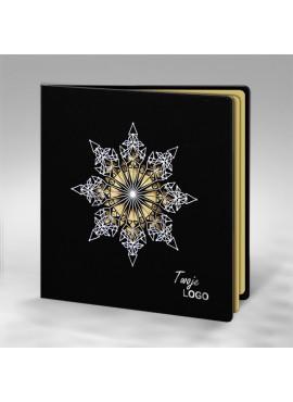 Kartka Świąteczna ze Śnieżynką Wyciętą Laserowo FS728ag
