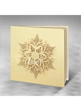 Kartka Świąteczna Trójwymiarowa Gwiazda FS611tz