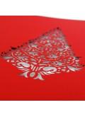 Kartka Świąteczna Misterny Wzór Choinki FS702cg