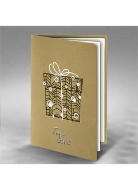 Kartka Świąteczna Prezent FS776zz