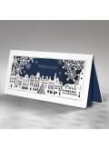 Kartka Świąteczna Miasteczko ze Śnieżynkami FS732