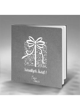Kartka Świąteczna z Nadrukowanym Prezentem FS646sp