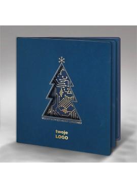 Kartka Świąteczna Choinka z Układem Scalonym FS679ng