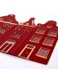 Kartka Świąteczna z Czerwonymi Kamieniczkami FS589bg
