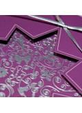Kartka Świąteczna z Motywem Gwiazdy Wyciętej Laserowo FS619kf