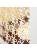 Kartka Świąteczna w Postaci Jasnego Lampionu w Gwiazdy FS496
