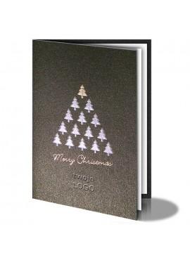 Kartka Świąteczna Choinka z Choinek 011230bg