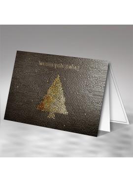 Kartka Świąteczna z Motywem Choinki jako Układ Scalony FT7513b15