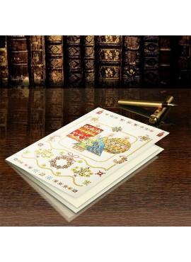 Kartka Świąteczna z Motywem Kolorowych Świec CFB002.040.13380
