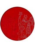 Kartka Świąteczna z Drzewkami Świątecznymi w Doniczkach CFB005.313.13290