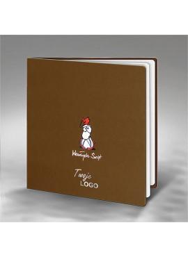 Kartka Świąteczna ze Śmiesznym Mikołajem FS689bp
