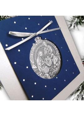 Kartka Świąteczna z Motywem Religijnym FS891s