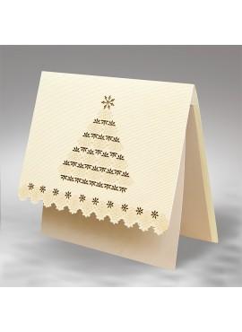 Kartka Świąteczna z Motywem Choinki FS574