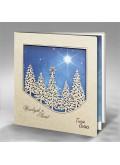 Kartka Świąteczna z Leśnym Krajobrazem FS605
