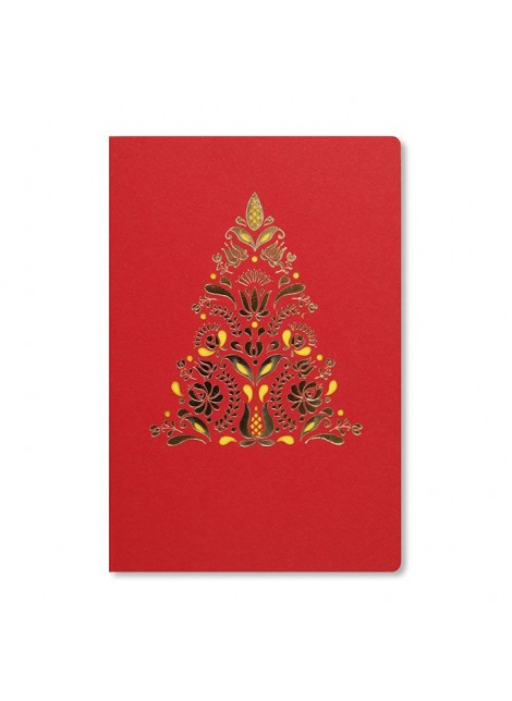 Kartka Świąteczna z Motywem w Stylu Staropolskim FS881c