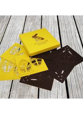 Pudełko Wielkanocne z Papierowymi Aplikacjami 3D 3 W638