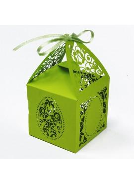 Pudełko na Prezenty Wielkanocne w Kolorze Zielonym