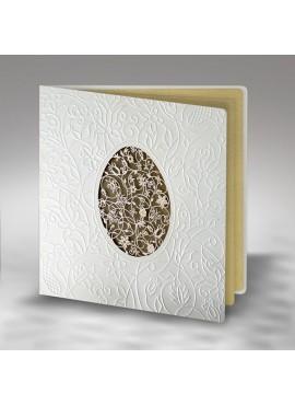Kartka Świąteczna Bogato Ozdobiona Tłoczeniami W359