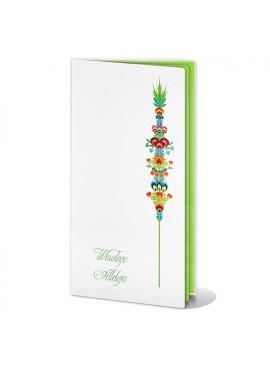 Kartka Świąteczna z Motywem Kolorowej Palmy W209
