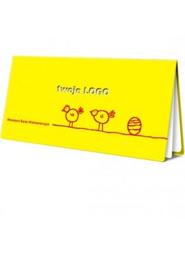 Kartka Świąteczna z Nadrukowanym Motywem Wielkanocnym W77