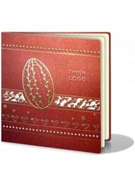 Kartka Świąteczna Ozdobiona Motywami Wielkanocnymi W98