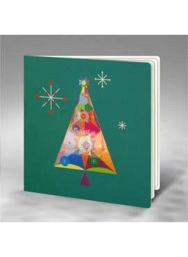 Kartka Świąteczna z Zabawnym Motywem FS766