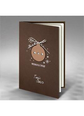 Kartka Świąteczna z Aplikacją Bombki FS763
