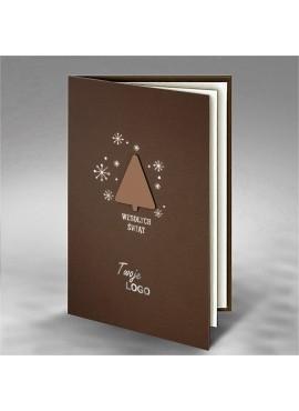 Kartka Świąteczna z Aplikacją Choinki FS764
