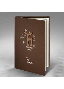 Kartka Świąteczna z Aplikacją Renifera FS765