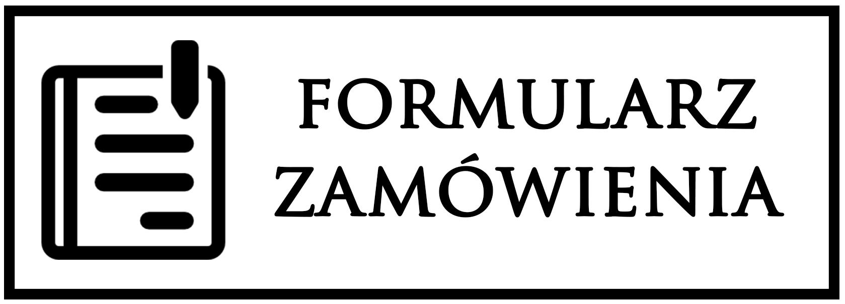 formularz zamówienia